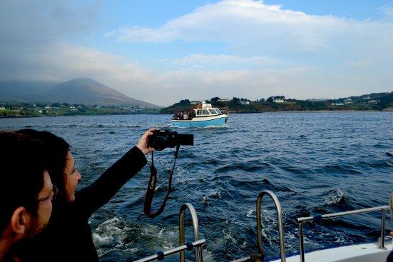 Leaving Harbour Slieve League