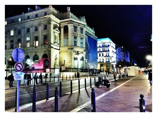 Downtown Marseilles
