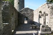 Monestary ruins, Ireland