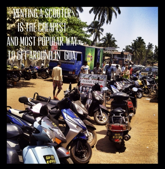 Scooters in Goa