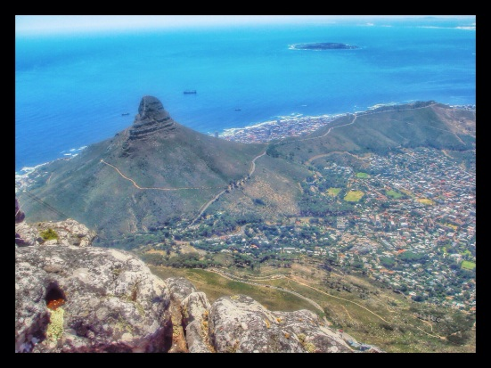 View from above, Table Mountain