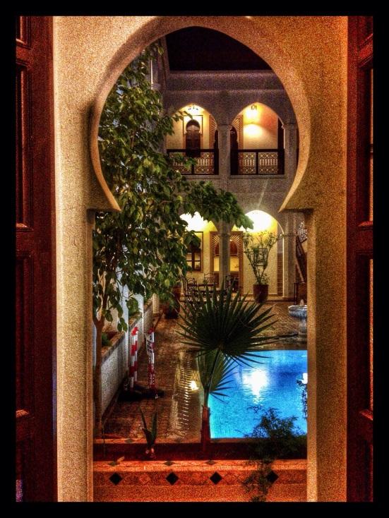 Patio in Marrakesh