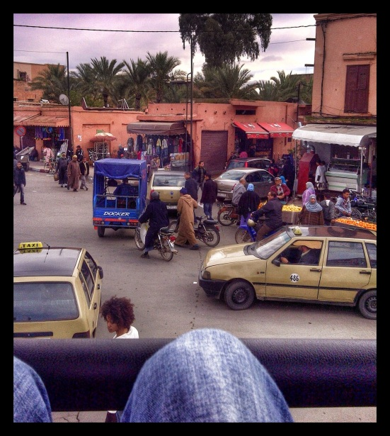 Traffic Jam Marrakesh